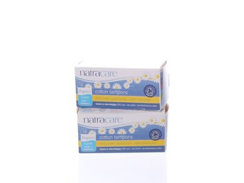 Natracare, Tamponger, 2 pack, Vit