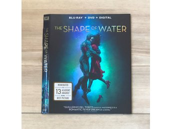 The Shape of Water Blu ray Slipcover (BARA SLIPCOVER)