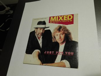 Mixed Emotions - Just for You (CD-maxi 1988), tysk import, Drafi Deutscher, RARE