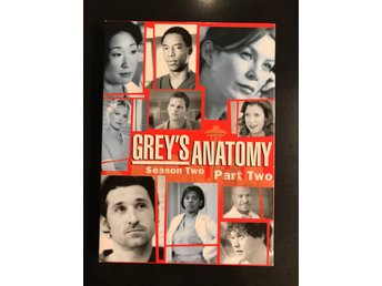 Greys anatomy - Säsong 2 - DVD-box