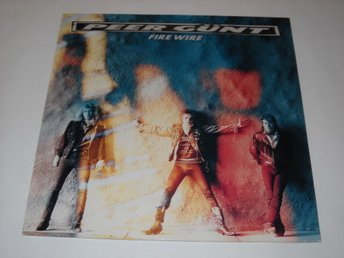 PEER GUNT - FIRE WIRE  LP   FINLAND  ORIG