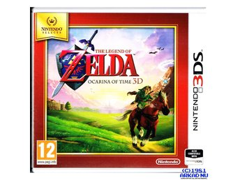THE LEGEND OF ZELDA OCARINA OF TIME 3D 3DS SELECTS