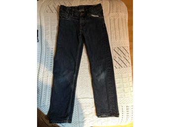 Supersnygga jeans - denim - slimfit - stl 128