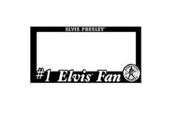 Elvis Presley License Flame 1 Elvis Fan..