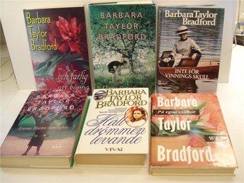 Bokpaket Barbara Taylor Bradford - Mölndal - Bokpaket Barbara Taylor Bradford - Mölndal