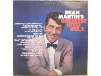 Dean Martin's Greatest Hits! Vol.1 / USA pressad LP