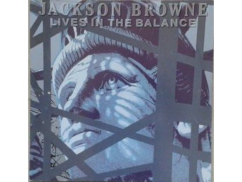 Jackson Browne‎ titel*  Lives In The Balance* Pop,Rock LP EU