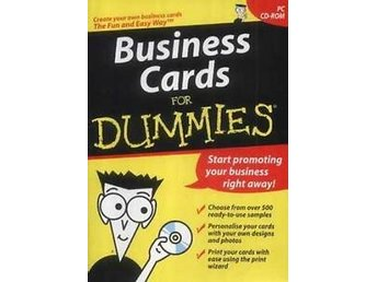 Business Cards for Dummies - PC Program
