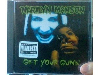 MARILYN MANSON Get your gunn cd singel