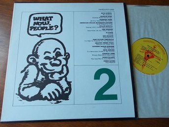 V/A - WHAT NOW, PEOPLE? Robert Crumb omslag, LP Paredon USA 1977 Folk Pete Seege