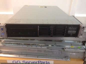 HP Proliant DL380p Gen8 2x E5-2690 V2 32GB P420i 10GbE 2xPSU Rackskenor
