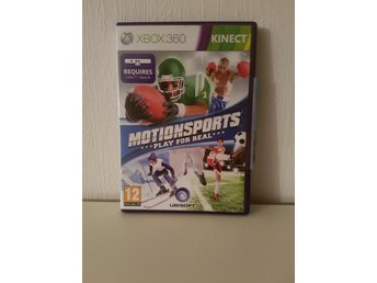 Motionsports play for real kinect till Xbox 360