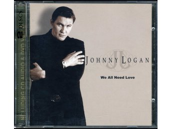 JOHNNY LOGAN (M-) – We All Need Love / CD + DVD