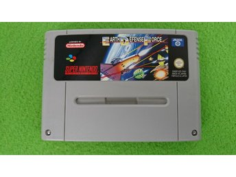Earth Defense Force Super Nintendo Snes