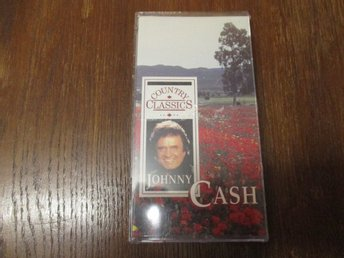 Johnny Cash Country Classics 3 Cassette box