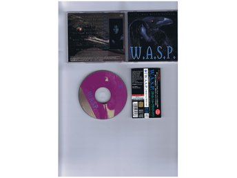 W.A.S.P.-Still not black enough(Los Angeles shock rockers!!!)JAP CD
