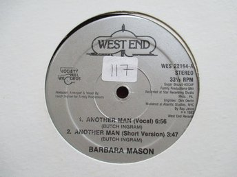 "12"" maxi: BARBARA MASON Another Man (USA 1983) Funk/Electro"