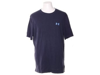 Under Armour, T-shirt, Strl: L, LOOSE, Mörkblå