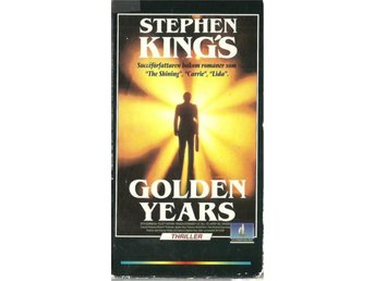 STEPHEN KING - GOLDEN YEARS - 3 TIMMAR ( VHS -SVENSKT TEXT )