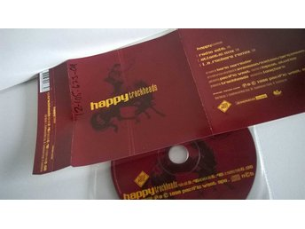 Trackheads - Happy, single CD, promo