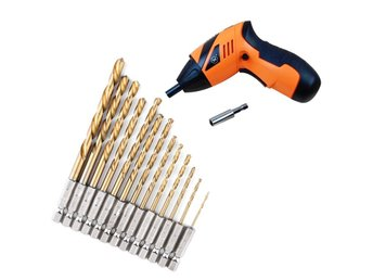 13st Hex Bits Kit Hex Drill Bit Set Multi Bits Tool 1.5-6.5mm