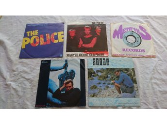 The Police / Sting - 5 singlar