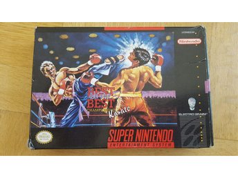best of the best till super nintendo USA import