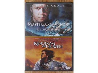 """Russell Crowe & Orlando Bloom i """"Master & Commander"""" samt """"Kindom of Heaven"""" - Göteborg - Russell Crowe & Orlando Bloom i """"Master & Commander"""" samt """"Kindom of Heaven"""" - Göteborg"""