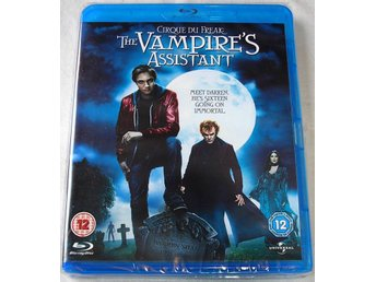 Cirque Du Freak: The Vampire´s Assistant (Blu-ray) *HELT NY*
