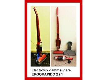 Dammsugare ELECTROLUX ERGORAPIDO 2- i -1 i mkt. bra skick - Stockholm - Dammsugare ELECTROLUX ERGORAPIDO 2- i -1 i mkt. bra skick - Stockholm