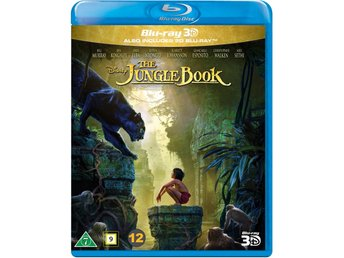 The Jungle Book Disney 3D + Blu-ray - Ny & Inplastad!