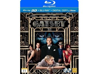 The Great Gatsby (2013) (3D Blu-ray + Blu-ray + Digital Copy) i NYSKICK