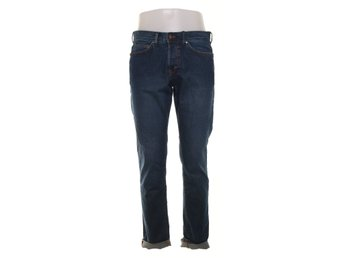 H&M Denim, Jeans, Slim Low Waist, Strl: 32/32, Blå