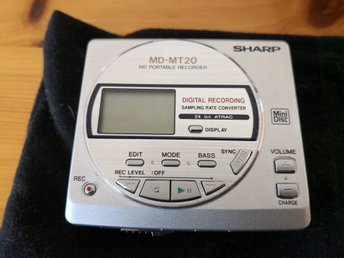 Sharp MD-MT20 MiniDisc