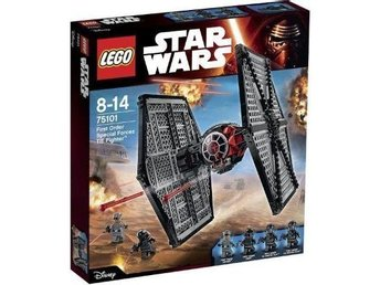 LEGO Star Wars 75101 First Order Special Forces TIE Fighter - ny/oöppnad