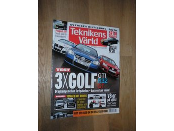 Teknikens Värld nr 10, 2006, Dodge Viper Golf Peugeot Rodius