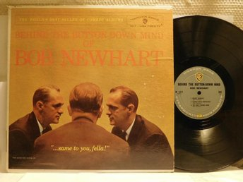 BOB NEWHART - BEHIND THE BUTTON-DOWN MIND OF