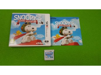 Snoopys Grand Adventure KOMPLETT Nintendo 3DS