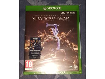 Middle earth shadow of war till Xbox one NYTT!
