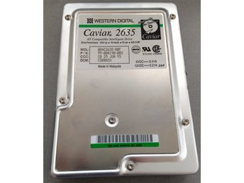 1995 - RARE - Hard Drive - Western Digital Caviar Green 2365 649MB IDE