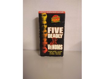 Five Deadly Venoms, Limited Widescreen edition!! Kung-Fu klassiker!! NTSC