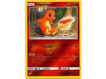 Charmander REVERSE HOLO RARE 11//181 Pokemon SM Team Up NM