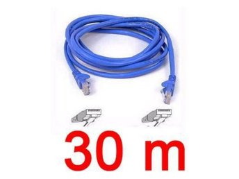 NY!30 Meter  30M Ethernet Network Patch Cable Nätverkskabel
