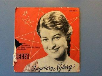 EP Ingeborg Nyberg med Egon Kjerrmans Orkester Decca - Fengersfors - EP Ingeborg Nyberg med Egon Kjerrmans Orkester Decca - Fengersfors