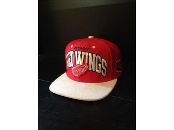 Mitchell & Ness snapback / Detroit red wings - Sölvesborg - Mitchell & Ness snapback / Detroit red wings - Sölvesborg