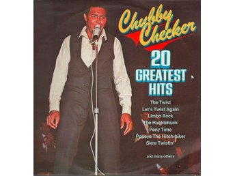 LP Chubby Checker 20 greatest hits