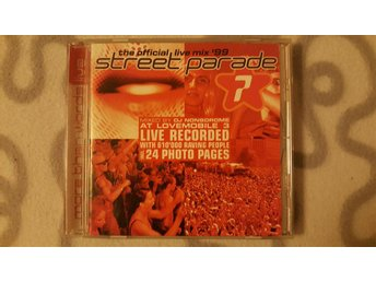 DJ Nonsdrome – Street Parade '99 - The Official Live Mix - Mixat Trancealbum