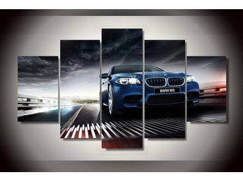 Canvas tavla 5 delad Bmw M5