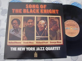 THE NEW YORK JAZZ QUARTET - SONG OF THE BLACK KNIGHT LP 1978