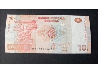 (17) CONGO DEMOCRATIC REPUBLIC 10 FRANCS 2003 UNC - Luleå - (17) CONGO DEMOCRATIC REPUBLIC 10 FRANCS 2003 UNC - Luleå